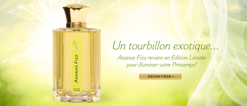 Ananas Fizz parfum �dition limit�e printemps